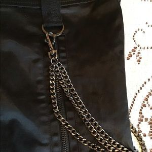 Guess Skirts - Guess Jeans - Satin Mini Skirt w/ Chains & Zippers